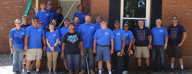 McBee Habitat Volunteers